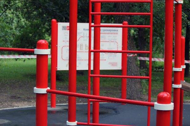 В парке «Красная Пресня» появилась воркаут-площадка. Изображение № 2.