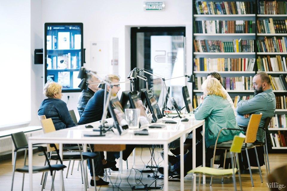 Фото дня: Как выглядит современная библиотека. Изображение № 21.