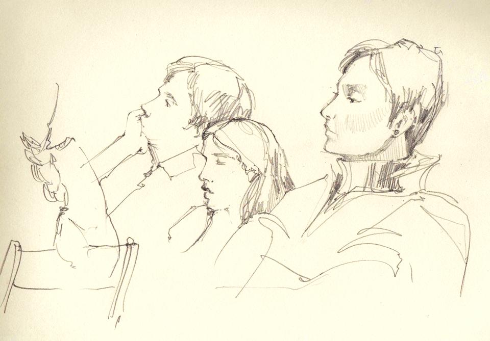 Клуб рисовальщиков: Музыканты. Изображение № 4.