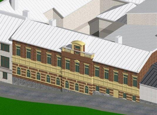 Визуализация квартала. Изображение № 4.