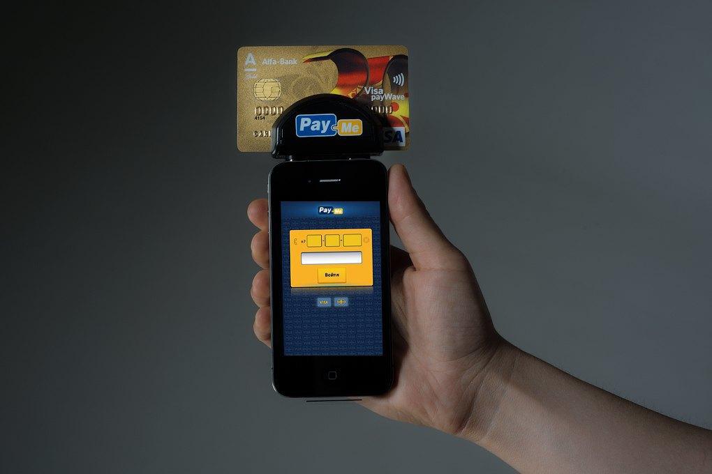 Pay-Me: Мобильное устройство для приёма банковских карт. Изображение № 2.