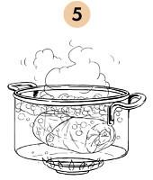 Рецепты шефов: Тёплый салат с перепёлкой и свежей малиной. Изображение № 8.