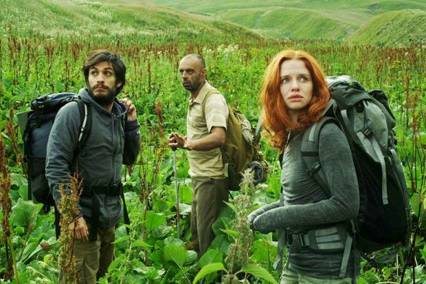 «Самая одинокая планета», меланхоличное road-movie с Гаэлем Гарсией Берналем, о том, как путешествие по Грузии меняет отношения внутри влюбленной пары. Изображение № 3.