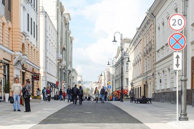Фото дня: Как выглядит пешеходная Большая Дмитровка. Изображение № 1.