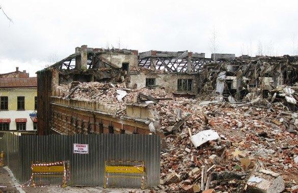 В Выборге снесли квартал исторических зданий. Изображение № 1.