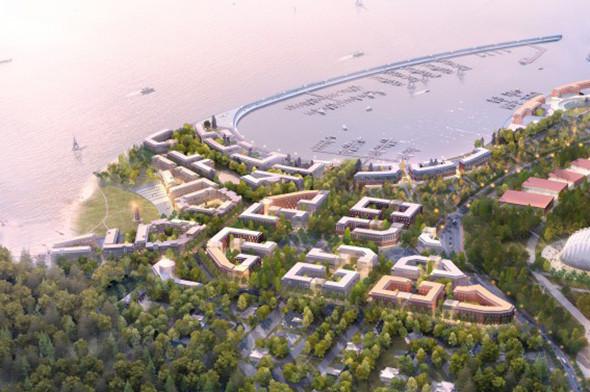 Опубликован проект намыва «Новый берег» под Сестрорецком. Изображение № 1.