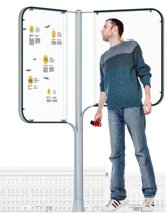 Студия Артемия Лебедева разработала концепт уличной навигации. Изображение № 7.