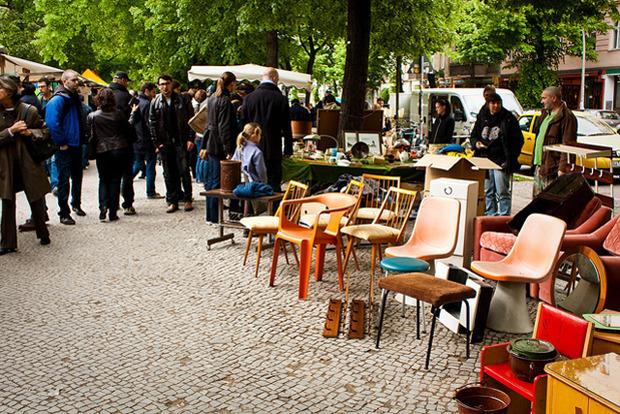 Блошиный рынок в Берлине. Фотография — Andrea Meyer. Изображение № 5.