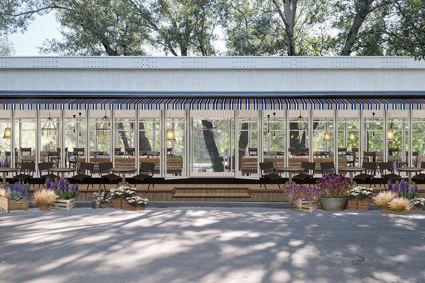 В парке Горького открылся Oyster Bar. Изображение № 1.