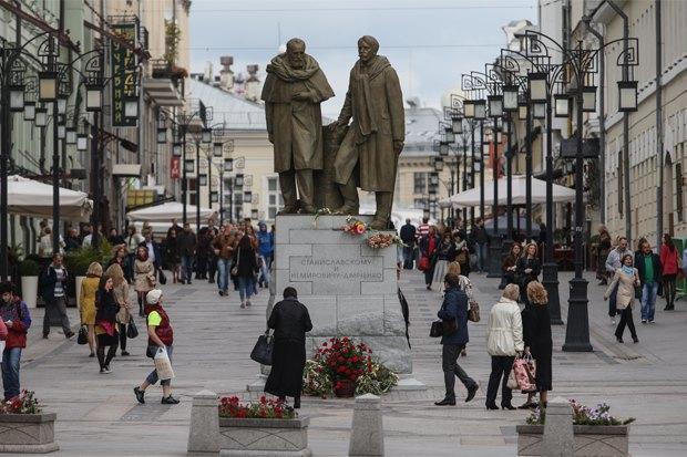 Кому икак ставят памятники вМоскве. Изображение № 1.