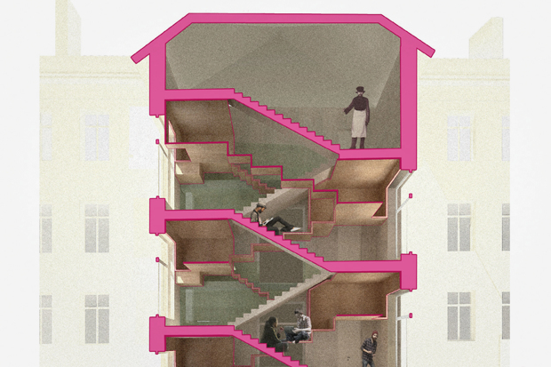 Перестройка: Что делать с чёрными лестницами. Изображение № 8.