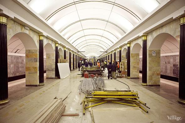 Фоторепортаж: Станция метро «Адмиралтейская» изнутри. Изображение № 8.