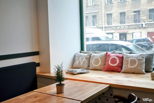 Новое место (Петербург): Кафе-бар Wood. Изображение № 2.