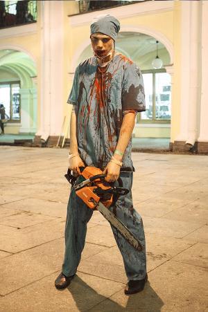 Люди в городе: Хеллоуин вПетербурге. Изображение № 7.