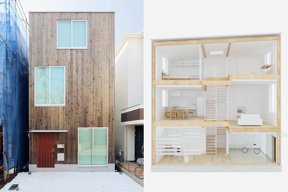 Почему японцы продают дома как коробки для хранения вещей. Изображение № 1.