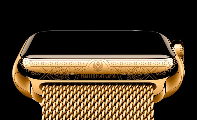 В России начали продаваться посвящённые Путину Apple Watch. Изображение № 1.