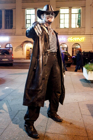 Люди в городе: Хеллоуин вПетербурге. Изображение № 9.