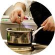 Omnivore Food Festival: Илья Шалев и Алексей Зимин готовят три блюда из редиса и черемши . Изображение № 49.