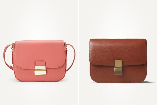 Слева: сумка Forever 21  Справа:  сумка Celine. Изображение № 3.
