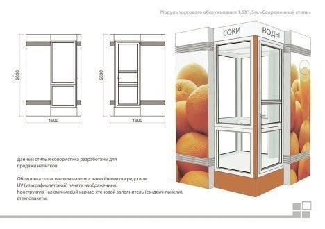 Изображение 1. В Москве представлен проект типовых торговых палаток.. Изображение № 2.