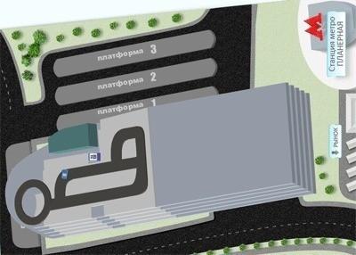 Изображение 4. Первый «умный» пересадочный узел города откроется в феврале.. Изображение № 2.