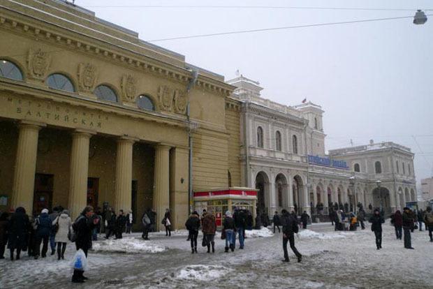 Территория вокруг Балтийского вокзала сейчас. Изображение № 3.