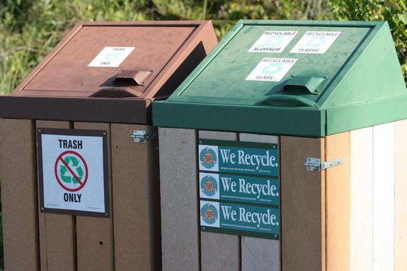 Во «Внуково» установили контейнеры для раздельного сбора мусора. Изображение № 16.