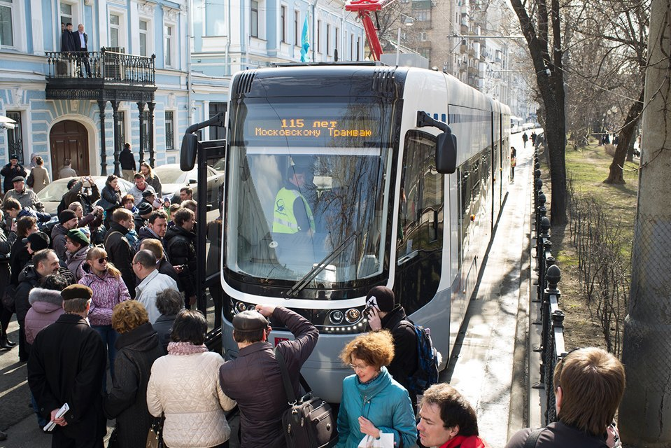 Парад трамваев наЧистыхпрудах. Изображение № 2.
