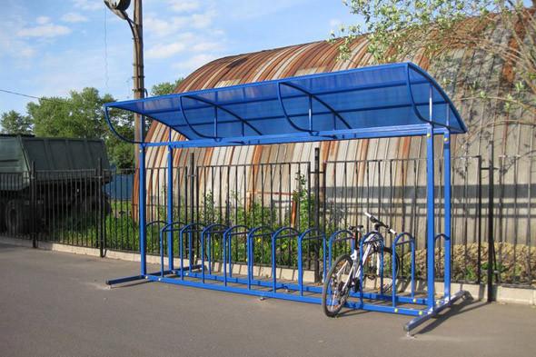 В городе открылись велостоянки на перехватывающих парковках . Изображение № 4.