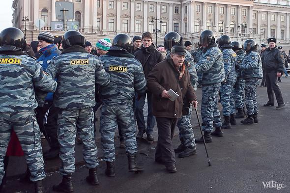 Фоторепортаж: Митинг 5 марта на Исаакиевской площади. Изображение № 10.