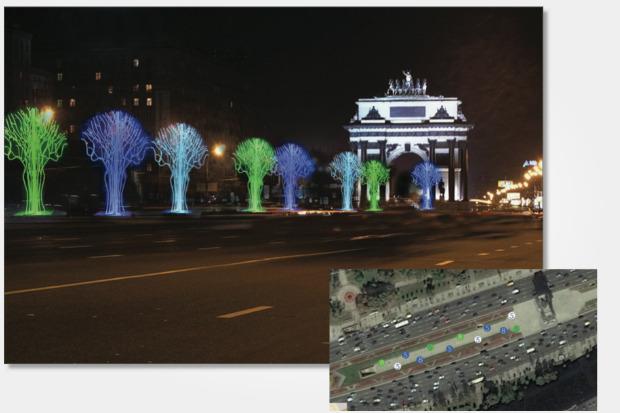 Великие луки: Как украсят Москву к Новому году. Изображение № 56.