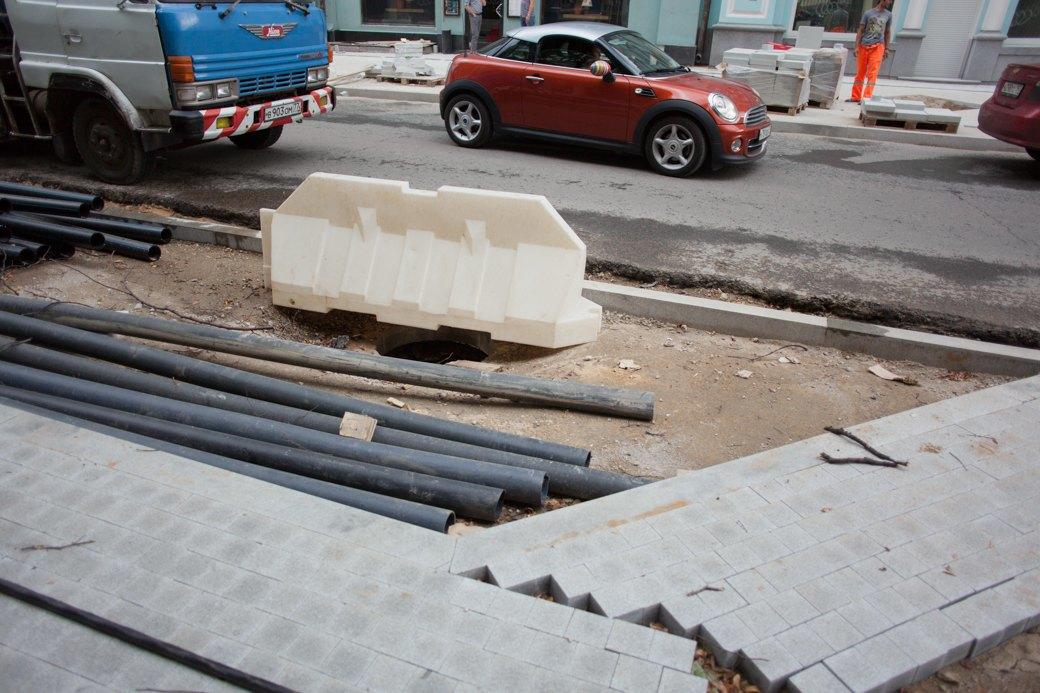 Её раскопали: Пешеходные улицы Москвы за месяц до открытия. Изображение № 3.