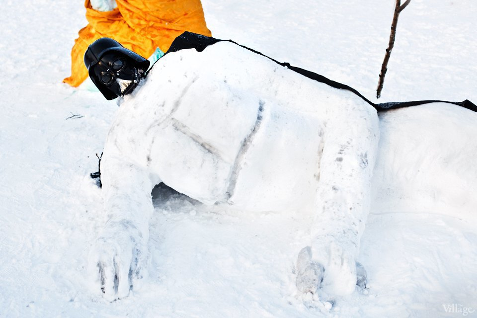 Люди в городе: «Арт-битва снеговиков». Изображение № 26.