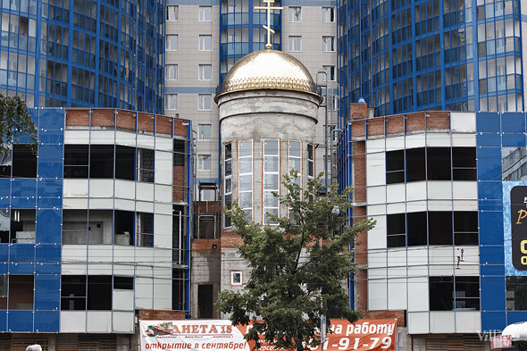 В Петербурге построят домовую церковь с фитнес-клубом и магазинами. Изображение № 2.