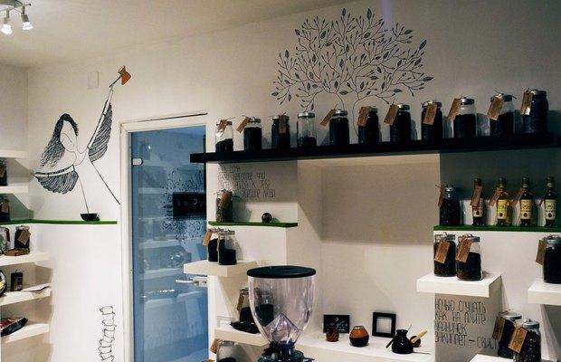 На Невском открылась чайно-кофейная лавка «Кофебрейк». Изображение № 1.