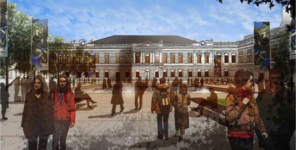 Пушкинский музей: Проект реконструкции. Изображение № 17.