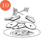 Рецепты шефов: Тёплый салат суткой, капустой, инжиром и яблоками. Изображение № 13.