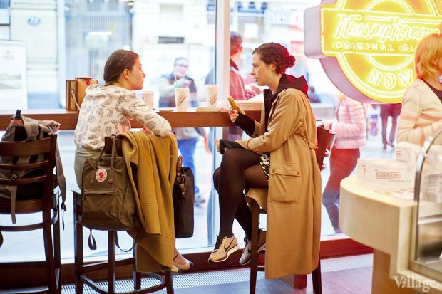 Саша Боярская опончиковой Krispy Kreme. Изображение № 13.