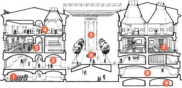 Фоторепортаж: Реконструкция Главного штаба изнутри. Изображение № 1.