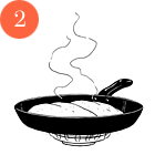 Рецепты шефов: Куриная грудка сперлотто и грибным соусом. Изображение № 4.