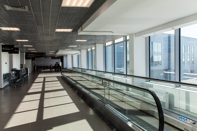 Аэропорт Пулково открыл новое здание для обслуживания внутренних рейсов . Изображение № 4.