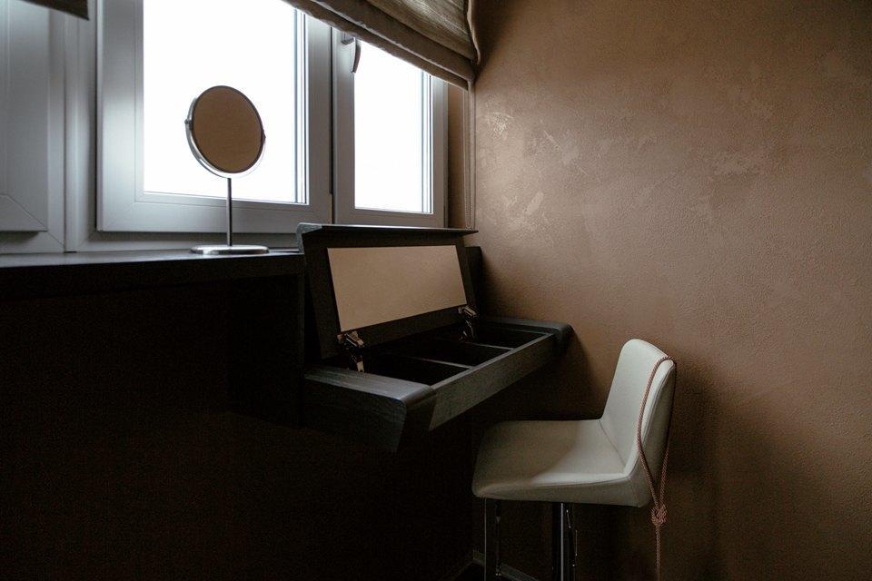 Трёхкомнатная квартира сэклектичным интерьером. Изображение № 27.