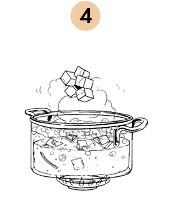 Рецепты шефов: Суп-пюре из тыквы с бальзамическим кремом. Изображение № 8.
