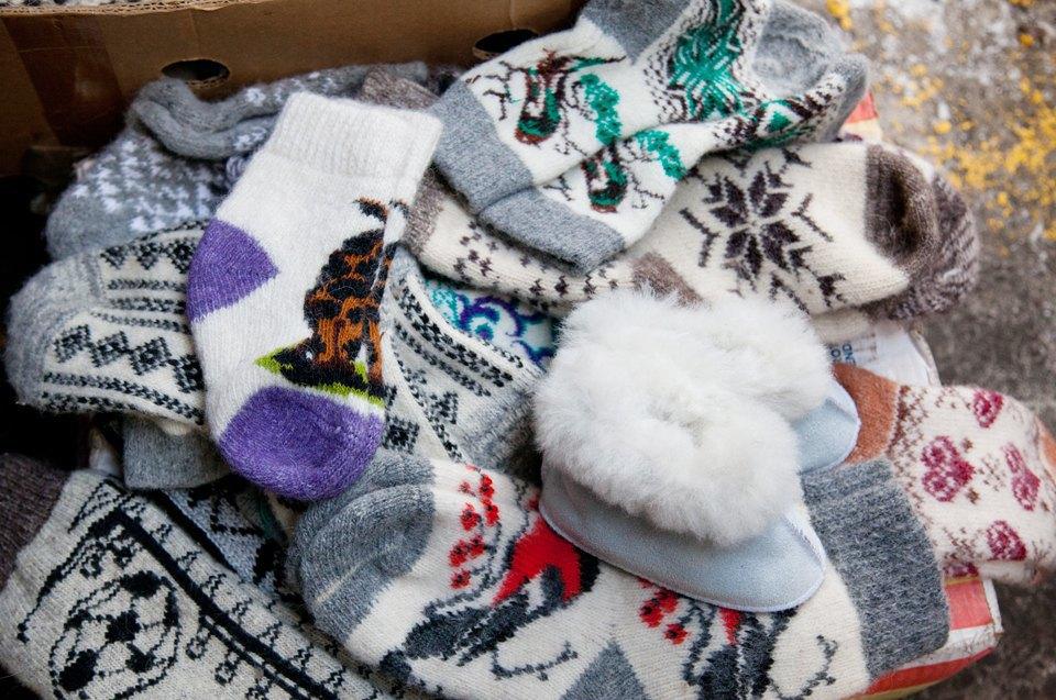 Кто продаёт шерстяные носки наулицах Москвы. Изображение № 8.