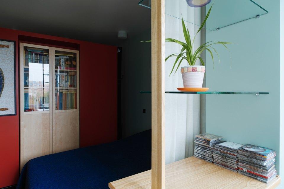 Однокомнатная холостяцкая квартира сумным зонированием. Изображение № 8.