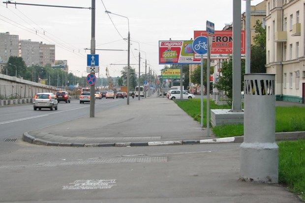 Блогеры раскритиковали велодорожку вдоль Ярославского шоссе . Изображение № 7.