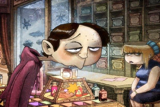 «Магазинчик самоубийств 3D», чудной мульт Патриса Леконта о семье, торгующей в невероятно тоскливом городе всем необходимым для суицида. Изображение № 6.