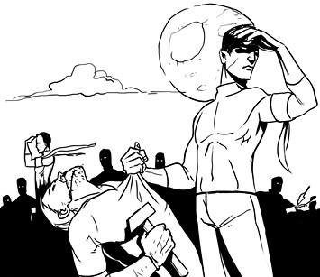 Хранители: Городские супергерои и антигерои. Изображение № 5.