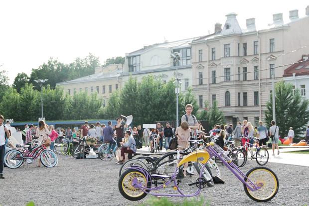 Фоторепортаж: Велопробег «За велогород». Изображение № 32.