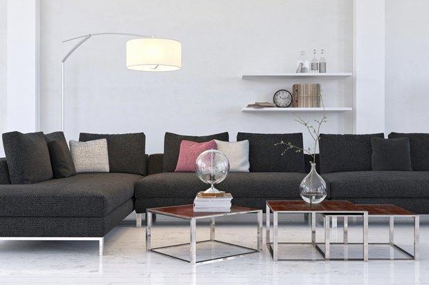 Как правильно организовать освещение вбольшой комнате . Изображение № 1.